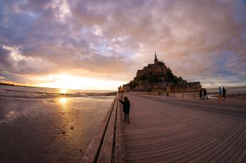 France-Normandie-Mont-saint-michel